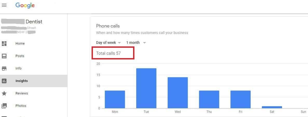 57 phone calls