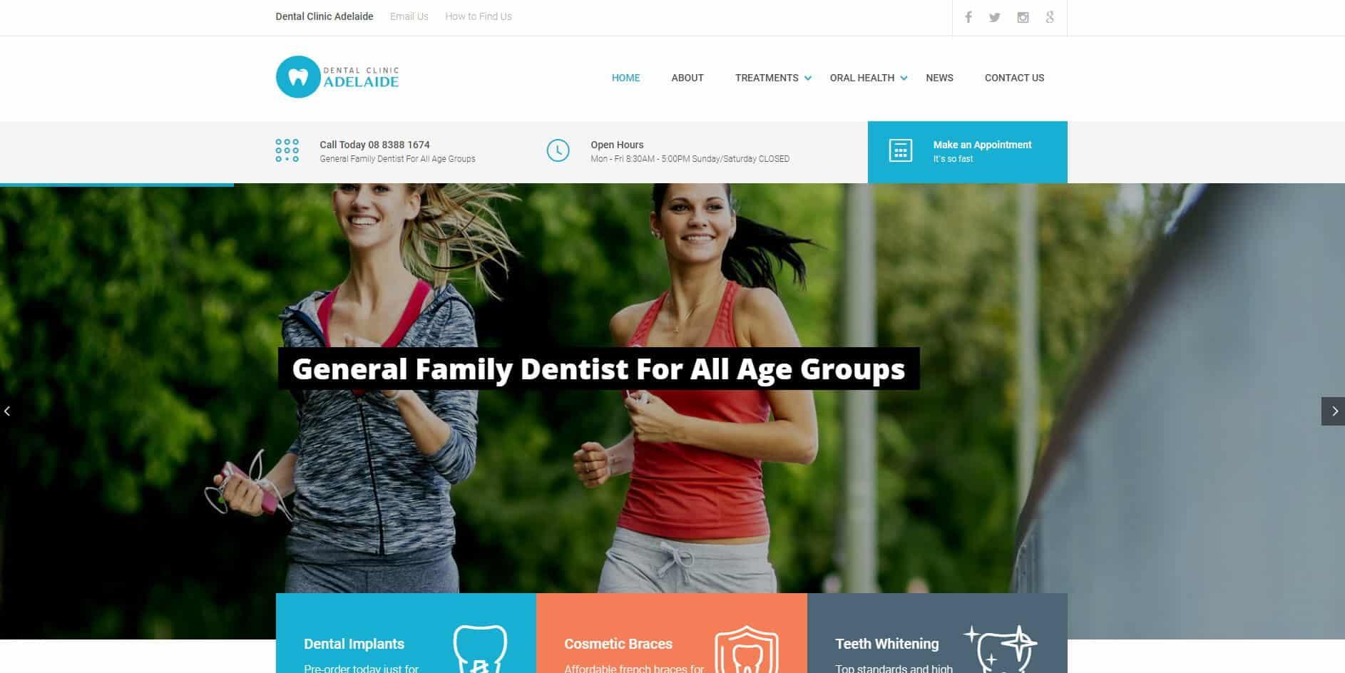 a dental clinic