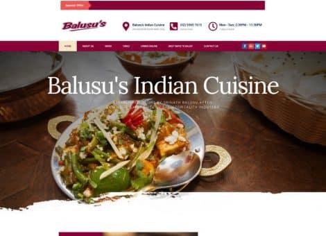 balusus indian cuisine